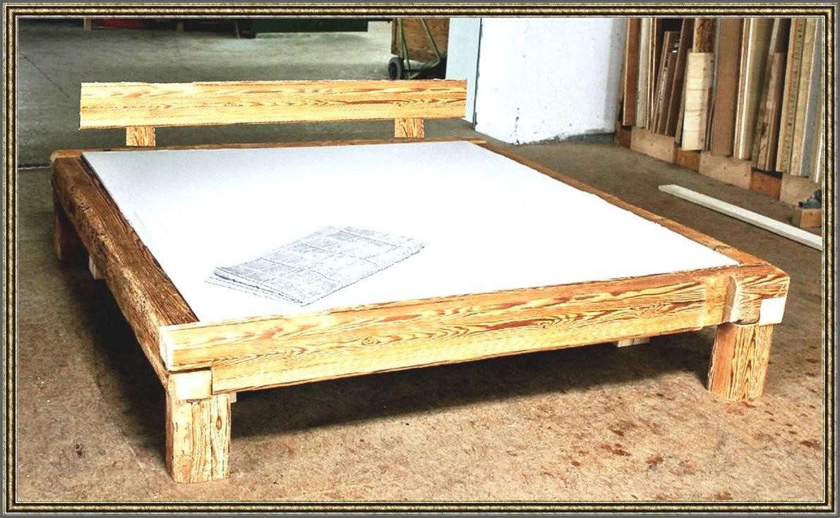 Bett 140X200 Selbst Bauen – Eyesopen Von Bett Aus Balken Selber von Bettgestell 140X200 Selber Bauen Bild