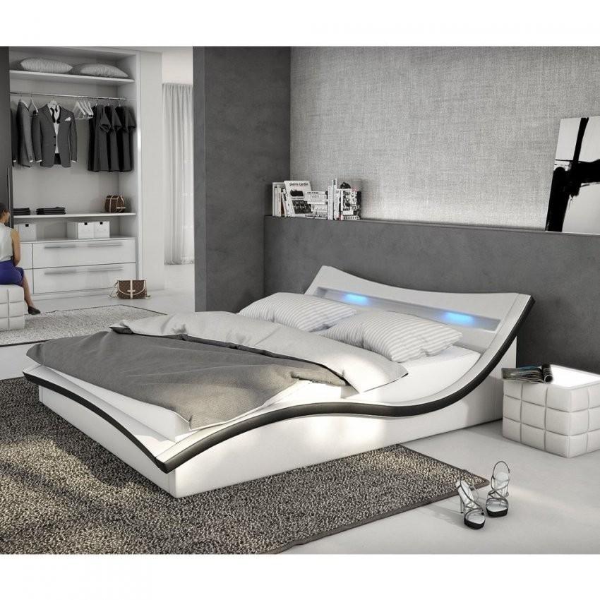 Bett 140X200 Weis X Hochglanz Mit Bettkasten Lattenrost Hoch von Polsterbett 140X200 Mit Matratze Bild