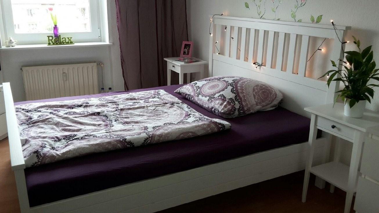 Bett 160X200 2 Lattenroste Kleiderschränke Hochglanz Weiß Spiegel von Bett 160X200 Gebraucht Bild