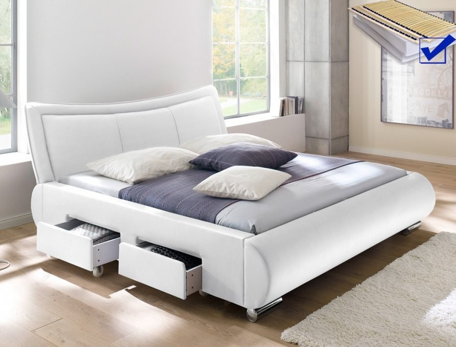 Bett 180X200 Günstig Demütigend Auf Kreative Deko Ideen Für Betten von Betten Mit Matratze Und Lattenrost Günstig Kaufen Bild