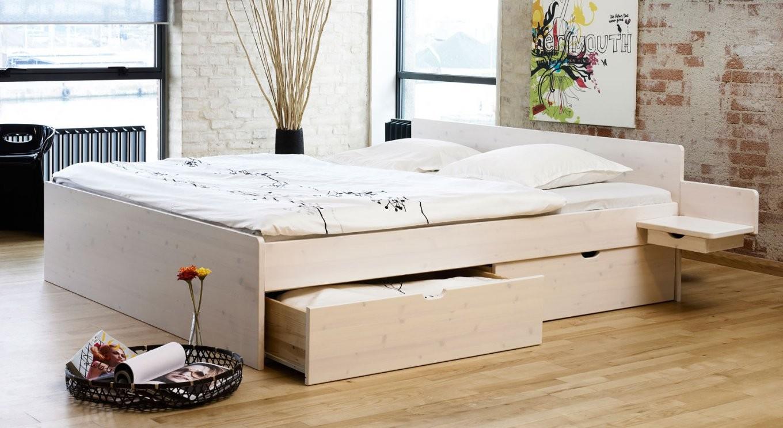 Bett 200X200 Mit Schubladen Schönheit Betten Stauraum 64023 Haus von Bett Mit Schubladen 200X200 Bild