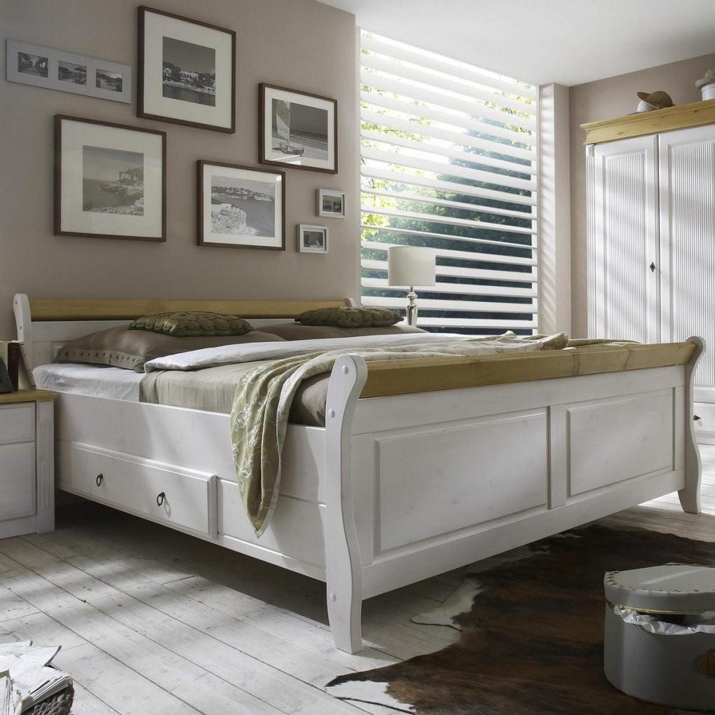 Bett 200×200 Weiß  Haus Renovieren von Bett 200X200 Landhausstil Bild