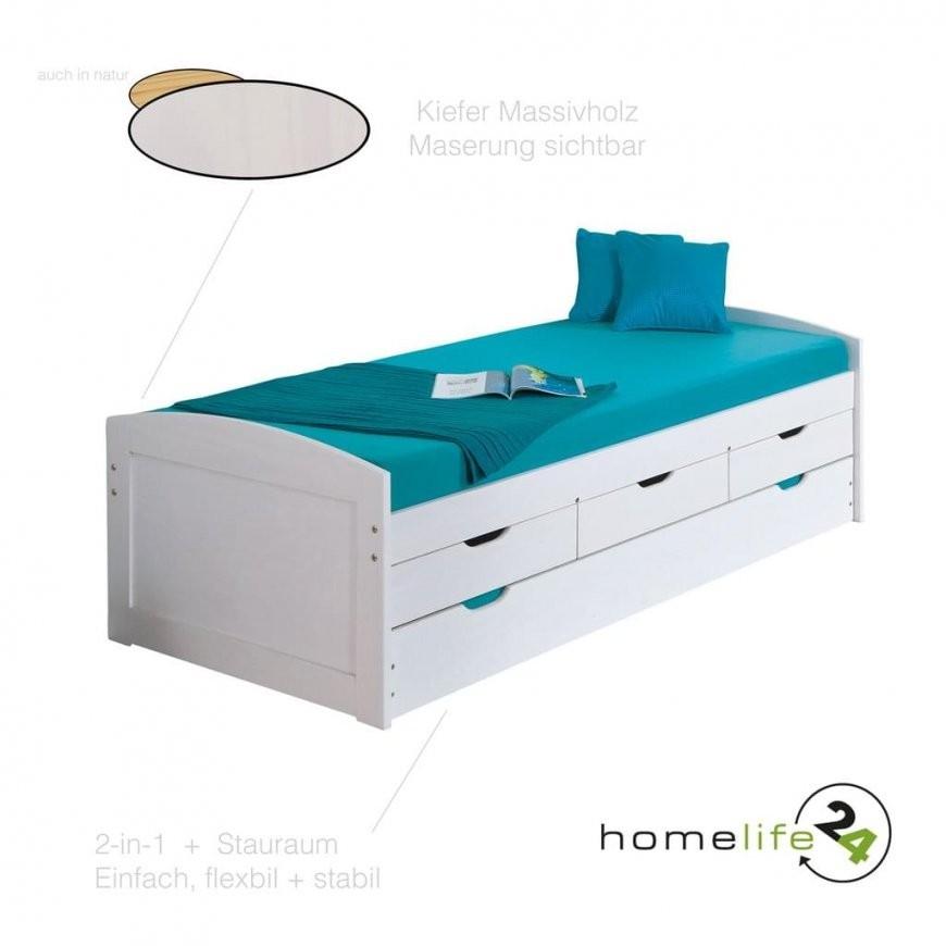 Bett 90X200 Cm Kinderbett Funktionsbett Kojenbett G  Real von Bett 90X200 Mit Schubladen Bild