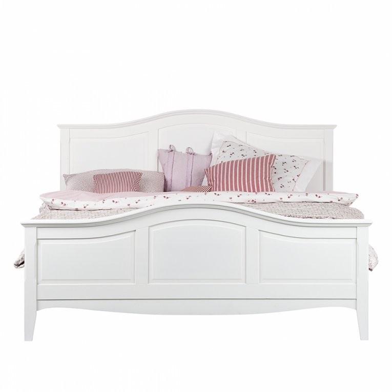 Bett Aus Der Serie Giselle In Weiß (140 X 200 Cm)  Home24 von Bett Landhausstil Weiß 180X200 Bild