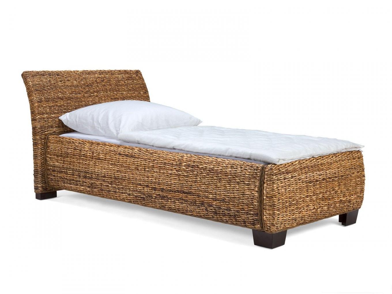 Bett Barika I Komforthöhe  Rattanbetten Von Massivum von Bett Komforthöhe 180X200 Bild