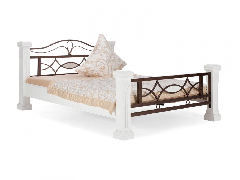 Bett Byzanz Weiß  Holzbetten Von Massivum von Bett 140X200 Weiß Holz Photo
