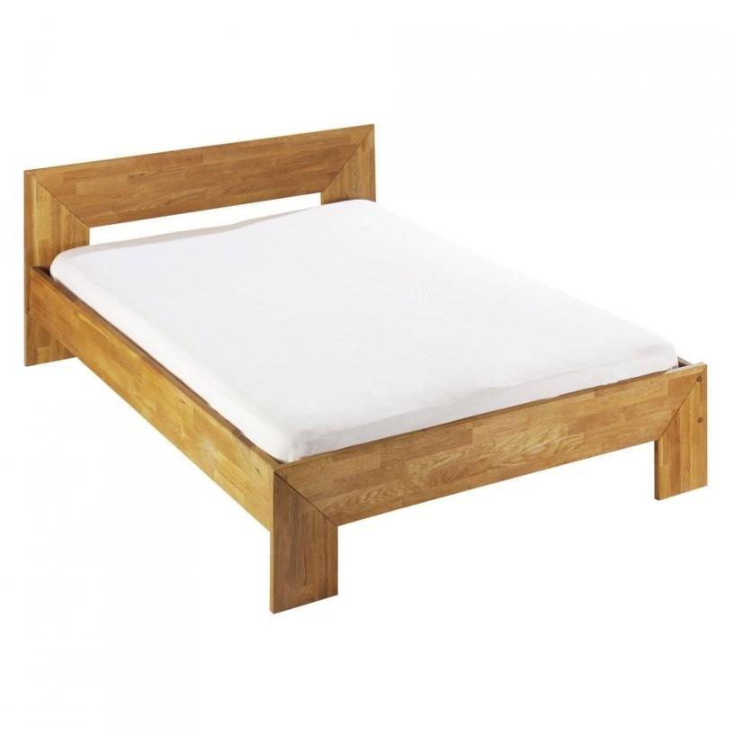 Bett Cubis (140X200 Eiche Geölt) Preiswert Kaufen  Dänisches von Betten Günstig Kaufen 140X200 Bild