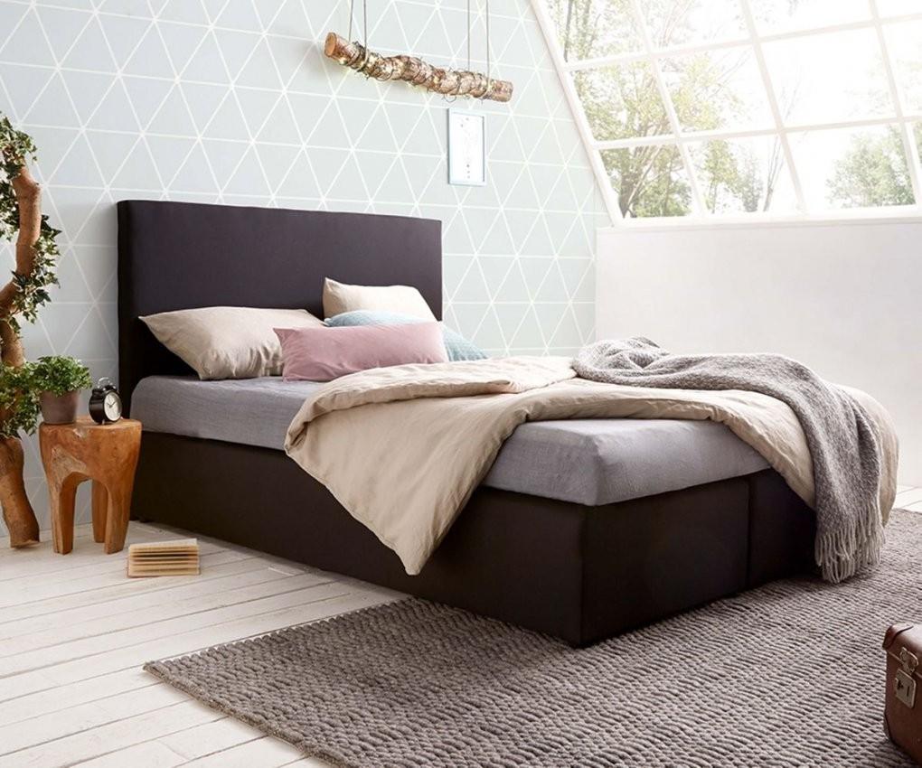 Bett Elexa Schwarz 140 X 200 Cm Matratze Und Topper Federkern von Matratze Statt Bett Bild