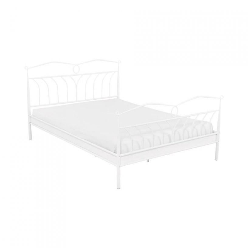 Bett Give (140X200 Weiß)  Dänisches Bettenlager von Weißes Bett 140X200 Bild
