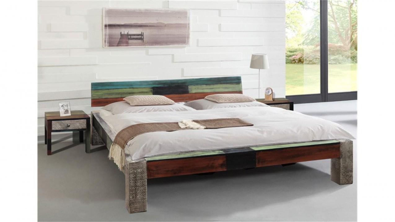 Bett Goa 180X200 Von Wolf Möbel In Massivholz Mango von Echtholz Bett 180X200 Photo