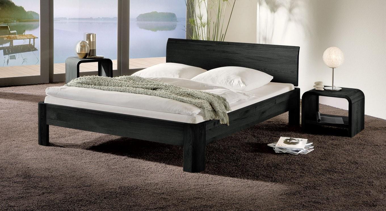 Bett In Zb 120X200 Cm Größe Aus Massivholz  Santa Clara von Bett 120X200 Schwarz Photo