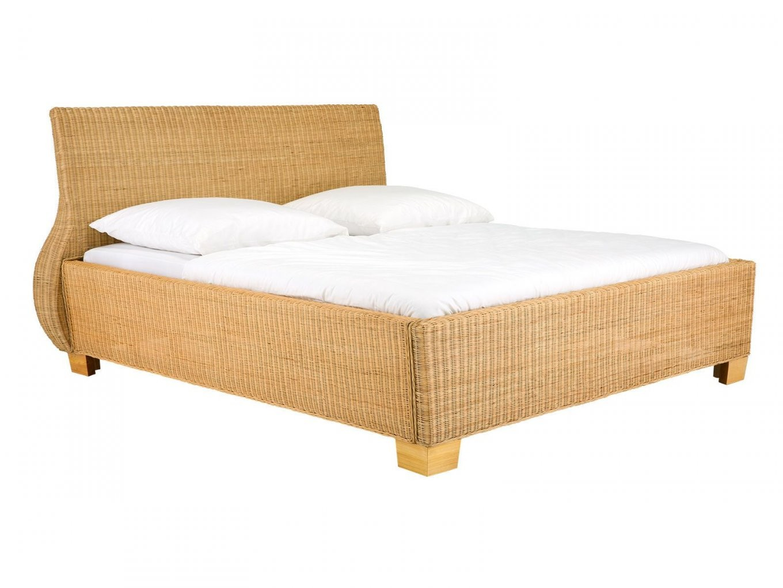 Bett Kaza Ii 180X200 Komforthöhe  Rattanbetten Von Massivum von Bett 180X200 Komforthöhe Bild
