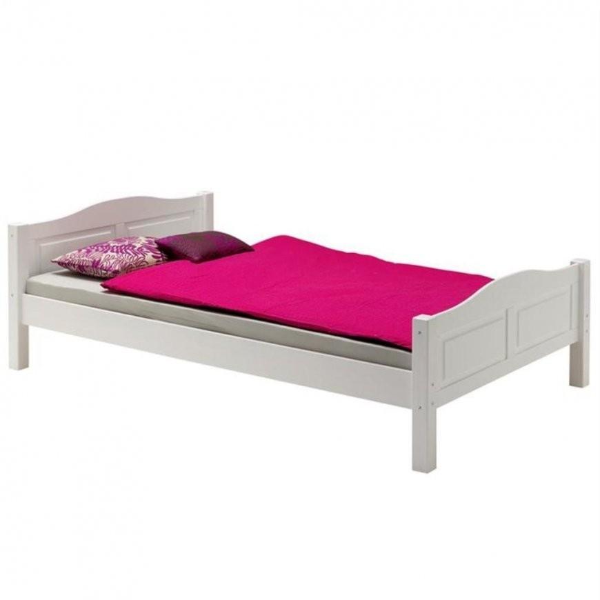 Bett Landhausbett Henrik 120X200 Cm Weiß  Real von Bett 120X200 Weiß Holz Bild