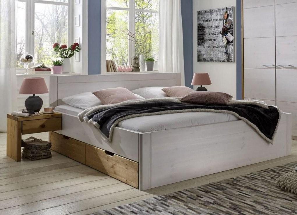 Bett Massivholz 180X200 Atemberaubend Auf Kreative Deko Ideen Plus von Bett Holz Weiß 180X200 Bild