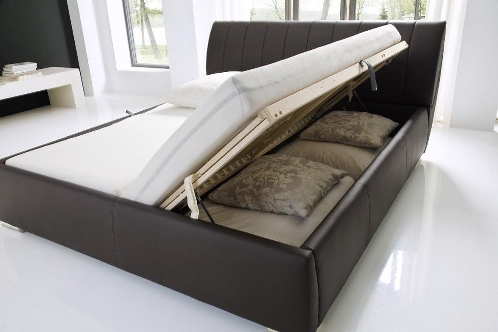 Bett Mit Bettkasten 160X200 Wunderbar Auf Kreative Deko Ideen In von Polsterbett 160X200 Mit Bettkasten Komforthöhe Bild