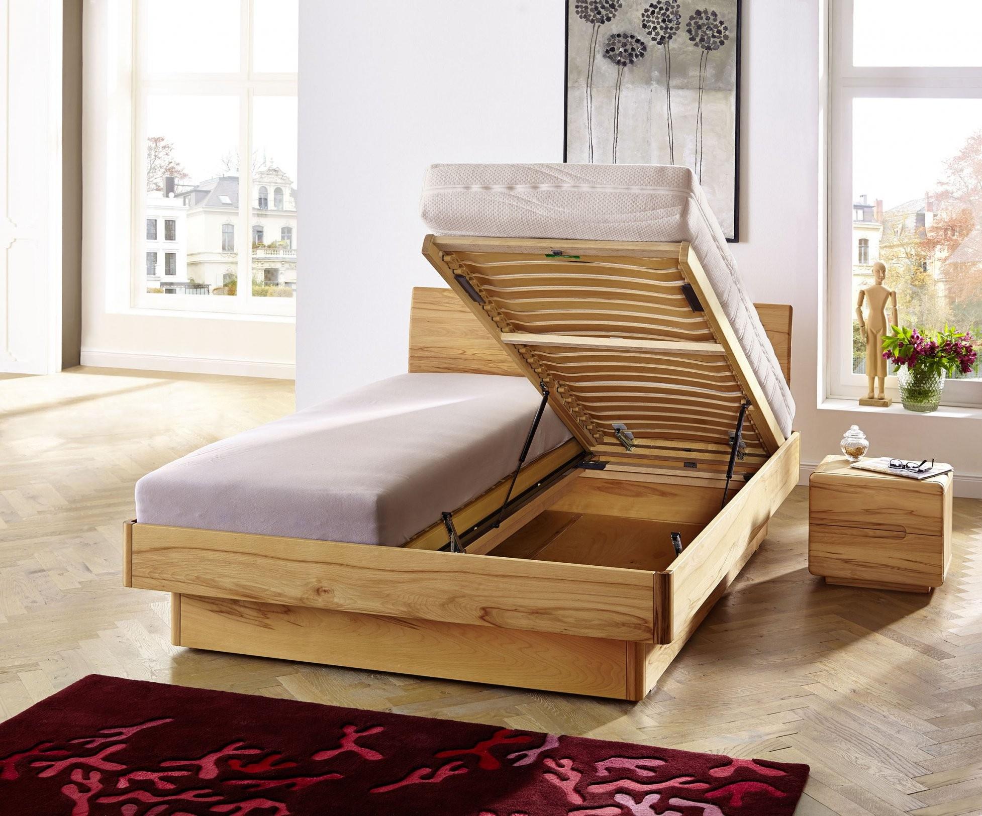 Bett Mit Bettkasten  Stauraumbett Mané  Betten Leipzig von Französische Betten Mit Bettkasten Bild