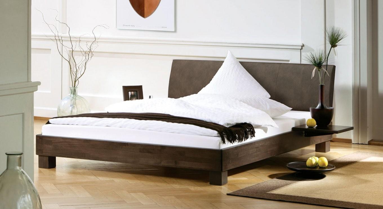Bett Mit Lehne Aus Luxuskunstleder Günstig Kaufen  Marbella von Betten Mit Matratze Und Lattenrost Günstig Kaufen Bild