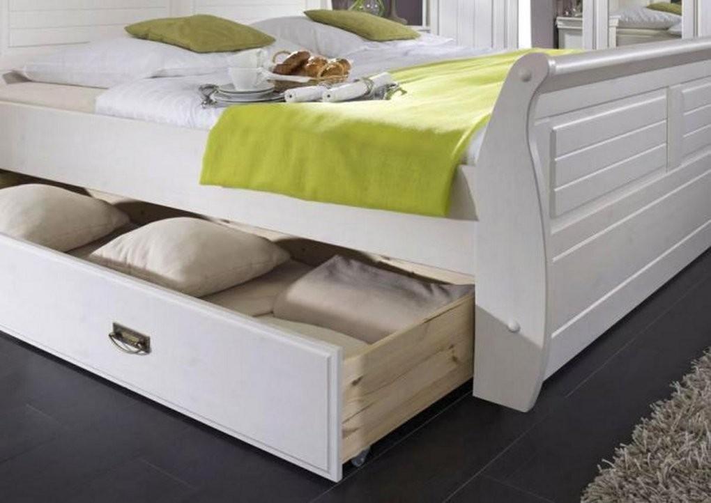 Bett Mit Schubladen 180X200 Häusliche Verbesserung Landhaus von Bett 180X200 Weiß Holz Photo