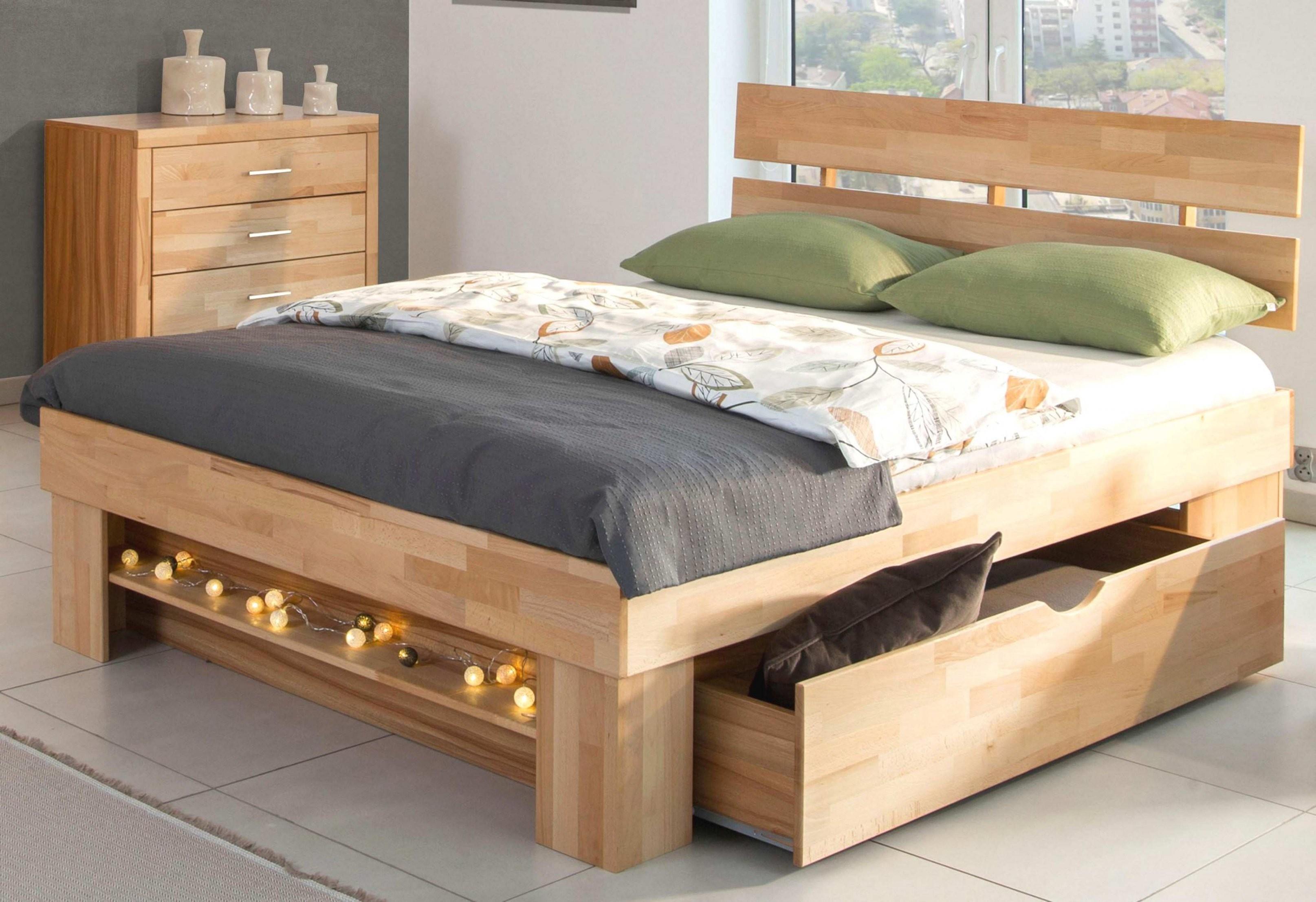 Bett Mit Schubladen 90×200 Ukkonzept Genial Stauraumbett 160×200 von Bett 160X200 Mit Stauraum Bild