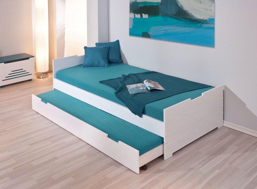 Bett Mit Zwei Matratzen  Dekorieren Bei Das Haus von Bett Zwei Matratzen Bild