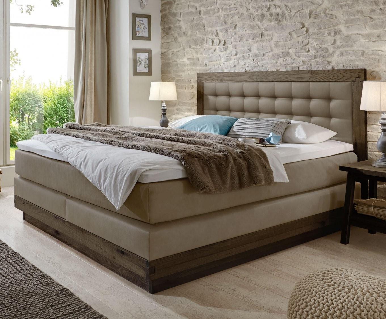 """Bett Mit Zwei Matratzen Mit Atemberaubend Boxspringbett """"galicia von Bett Mit Zwei Matratzen Bild"""