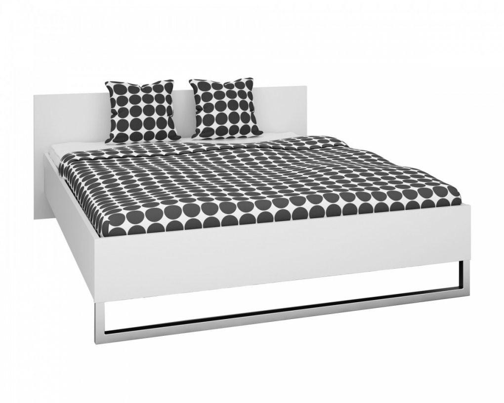 Bett Style (160X200 Weiß)  Dänisches Bettenlager von Weißes Bett 160X200 Bild