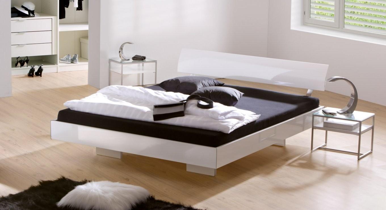 Bett Weiß Hochglanz 140 X 200 Architektur Bett Tvilum Style 76740 von Bett 140X200 Weiß Hochglanz Bild