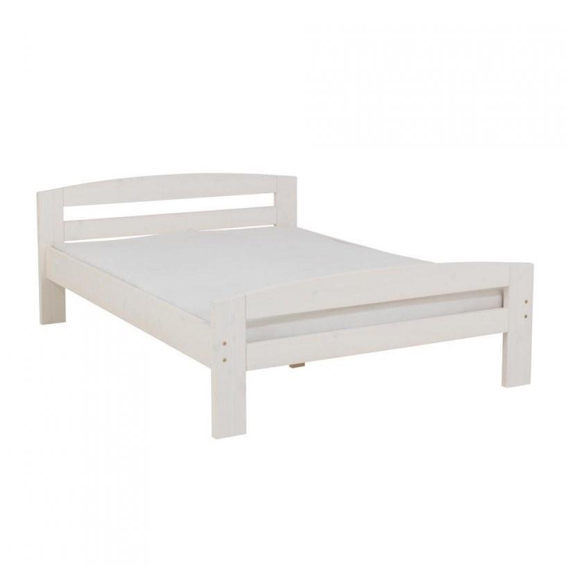 Bett Weiß Lackiert Preiswert  Dänisches Bettenlager von Bett Weiß 140X200 Günstig Bild
