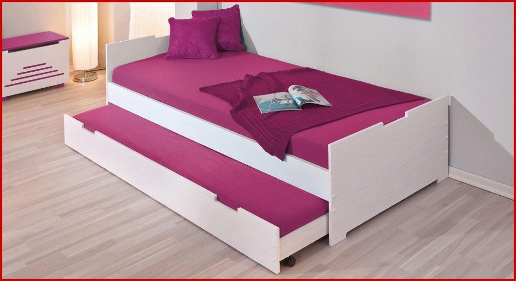 Bett Zwei Lattenroste Eine Matratze  Kaltschaum Matratze von Bett Mit Zwei Matratzen Bild