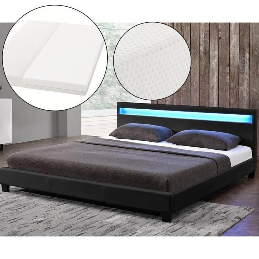 Betten 140X200 Cm Günstig Online Kaufen  Real von Polsterbett 140X200 Mit Lattenrost Photo