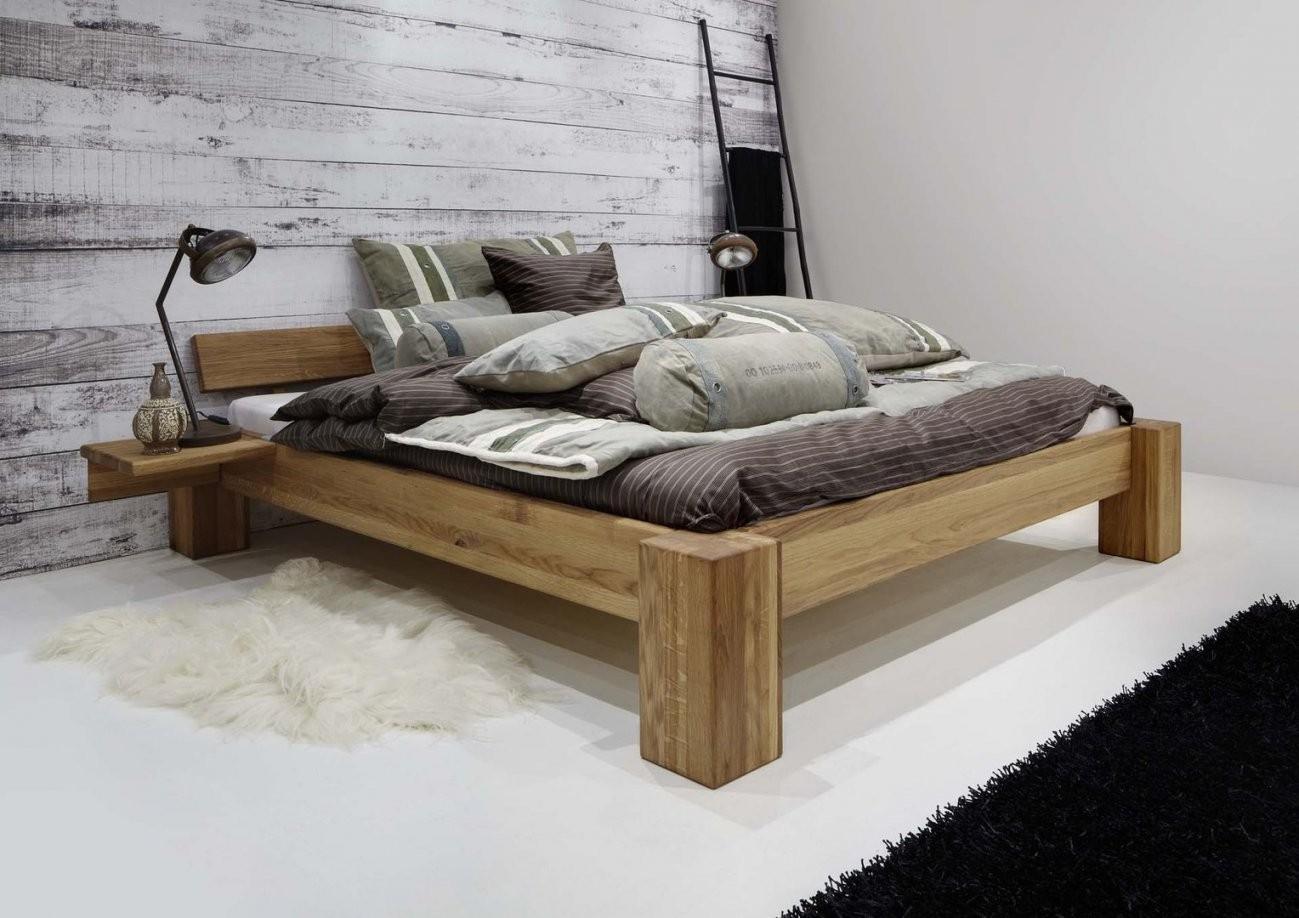 Betten  Casa Innatura Massivholzmöbel Online Shop von Bett Eiche 200X200 Photo