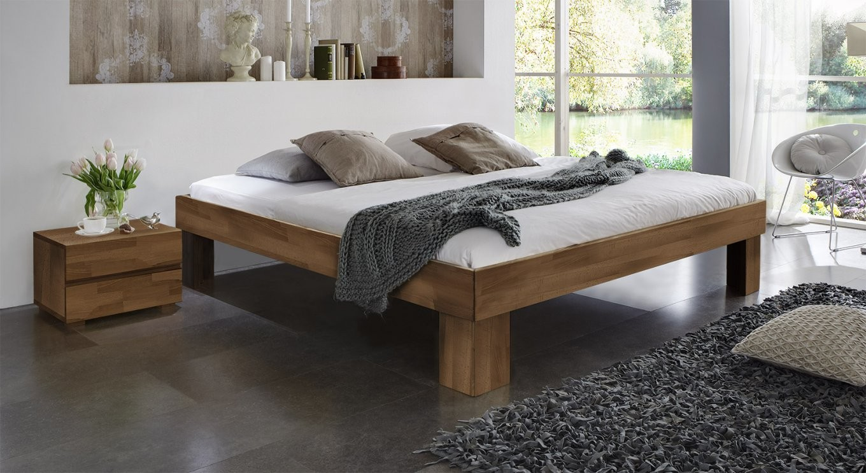 Betten In Komforthöhe  Komfortbetten Von Betten von Bett 180X200 Massivholz Komforthöhe Photo