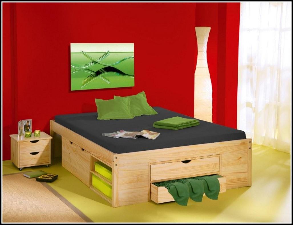 Betten Mit Schubladen 120X200  Betten  House Und Dekor Galerie von Bett Mit Schubladen 120X200 Bild