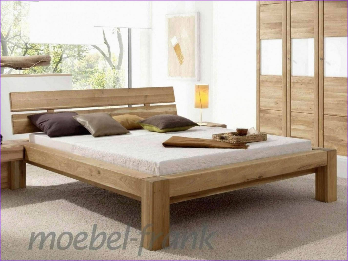 Bettgestell 140X200 Holz Unvergleichlich 40 Neu Sonoma Eiche Bett von Bettgestell 140X200 Holz Bild
