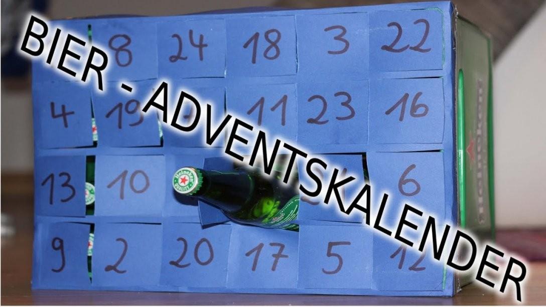 Bier Adventskalender Selber Machen  Last Minute Geschenke Selber von Bier Adventskalender Selber Machen Photo