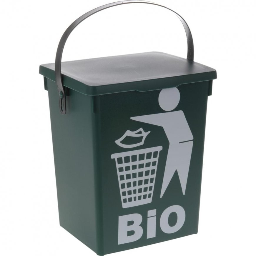 Biomüll Mülleimer Biomülleimer Komposteimer  Real von Bio Mülleimer Küche Bild