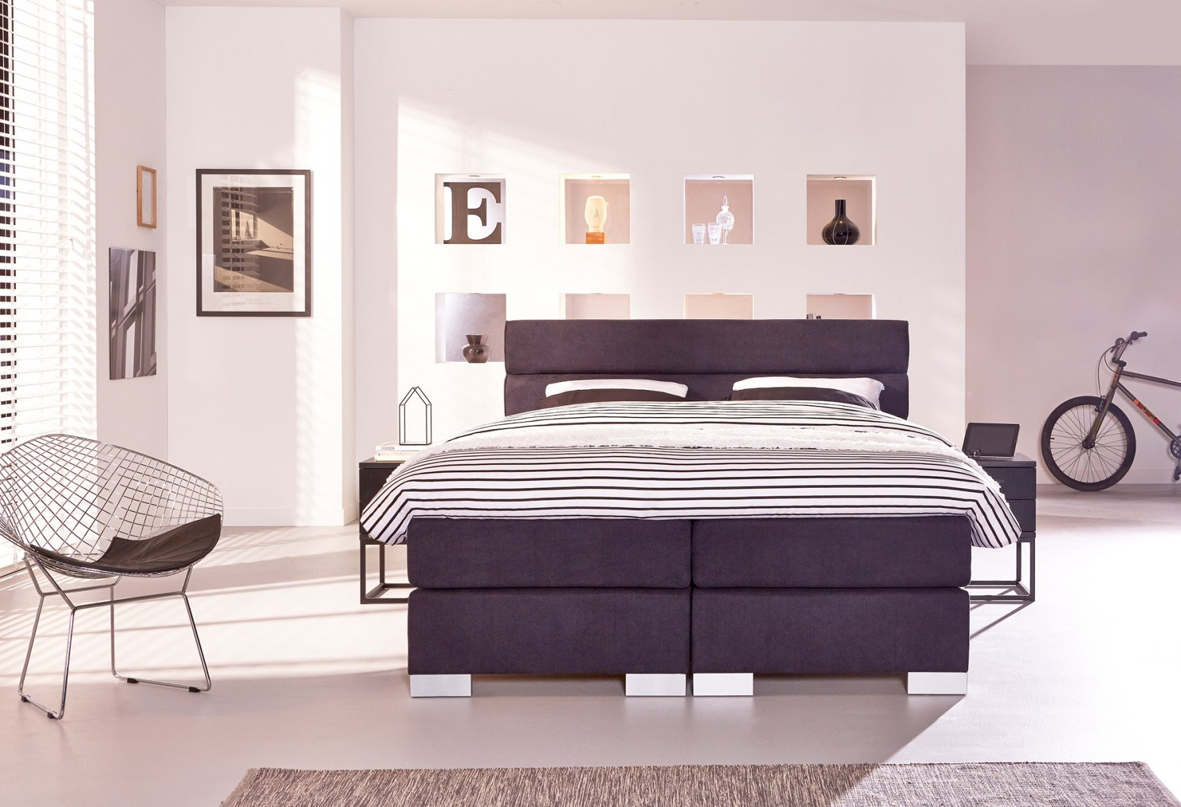 Boxspring 140X200 Kopen  Swiss Sense  Gratis Montage von Boxspringbett Boston 140X200 Photo