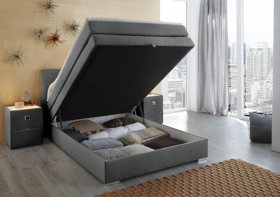 Boxspringbett 140X200 Mit Bettkasten 2018  Hause Design Ideen von Boxspringbett Mit Bettkasten 140X200 Günstig Bild