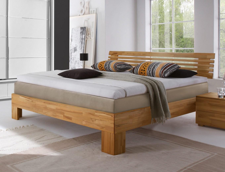 Boxspringbett Aus Massivholz In Buche  Sardinien  Betten von Boxspring Bett Überlänge Bild