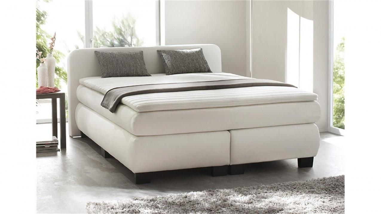 Boxspringbett Bx 300 Bett Schlafzimmerbett In Weiß 140X200 von Boxspring Bett Weiß 140X200 Bild
