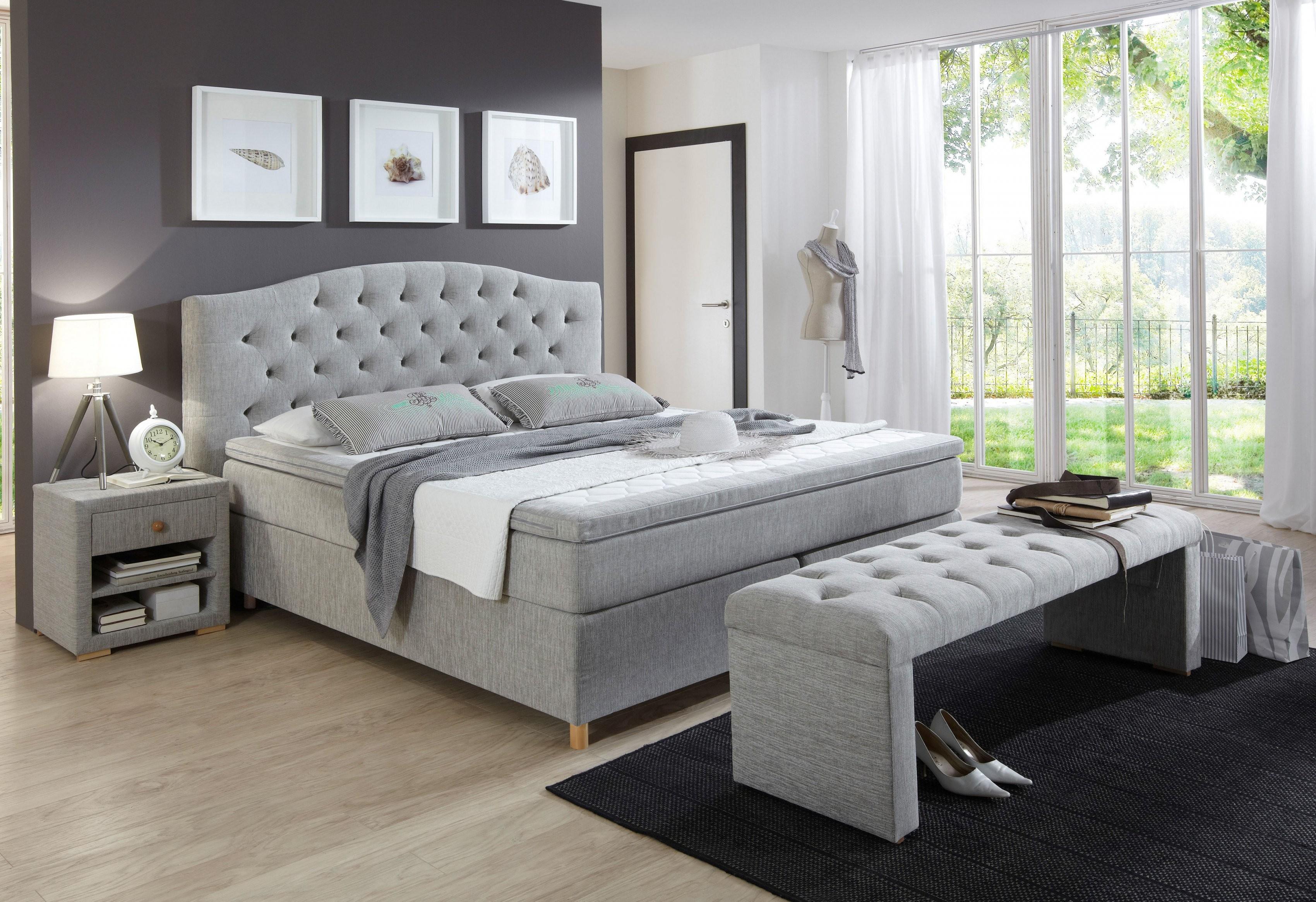 Boxspringbett Inkl Topper Home Affaire Claire Kaufen  Baur von Boxspring Bett Home Affaire Bild