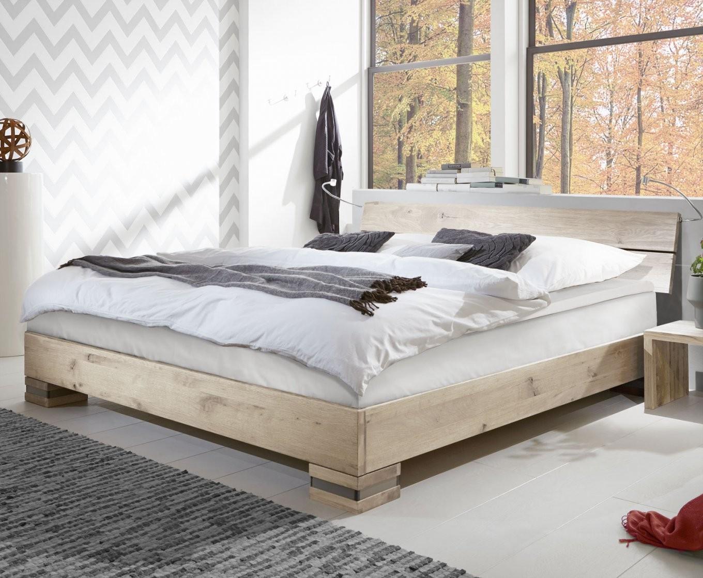 Boxspringbett Mexiana Aus Massivholz Wildeiche Mit Einlegesystem von Bett Weiß 140X200 Holz Photo