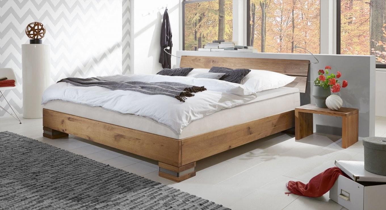 Boxspringbett Mexiana Aus Massivholz Wildeiche Mit Einlegesystem von Boxspring Matratze Für Normales Bett Photo
