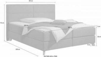 Boxspringbetten Und Andere Betten Von Home Affaire Online Kaufen von Boxspring Bett Home Affaire Photo