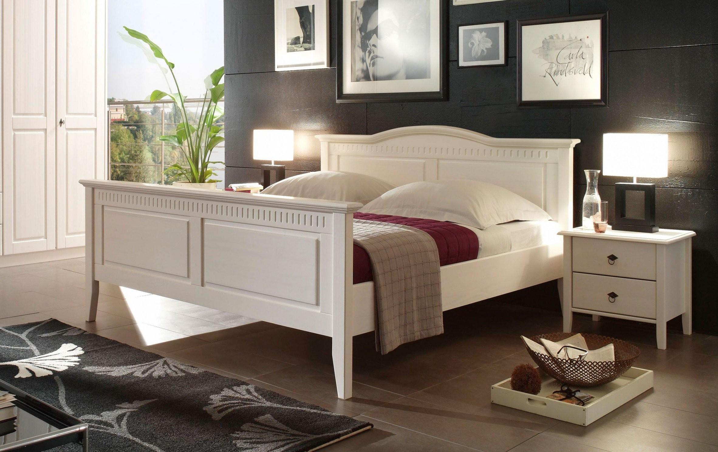 Bozen Ii Von Forestdream Bett Weiß Liegefläche 180X200 Cm  Möbel von Bett Landhausstil 180X200 Photo