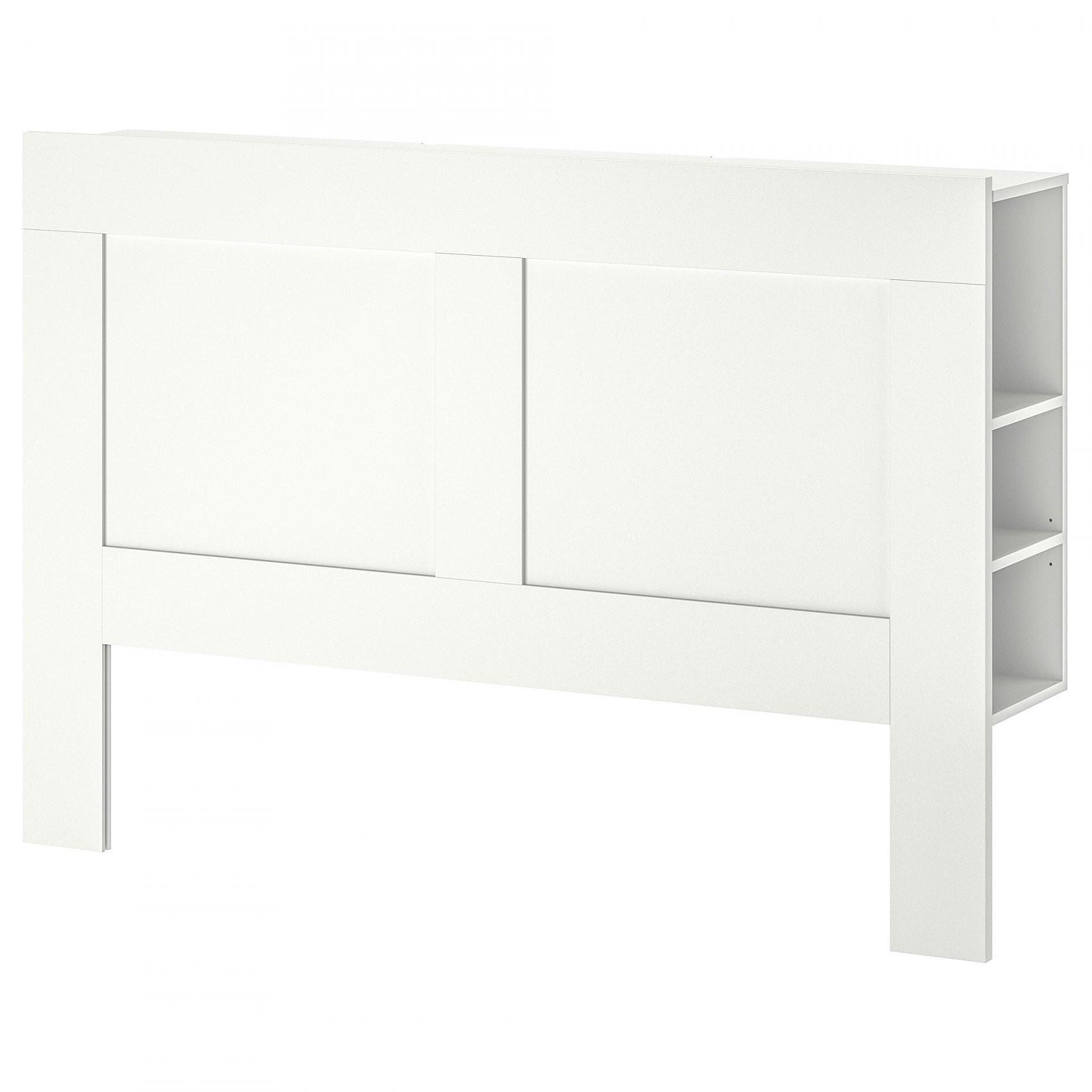Brimnes Bedframe Met Opberglades Wit 160 X 200 Cm  Ikea von Ikea Brimnes Bett 160X200 Bild