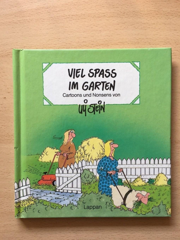 """Buch Uli Stein """"viel Spaß Im Garten"""" Lustige Cartoons Und Bilder von Uli Stein Garten Photo"""