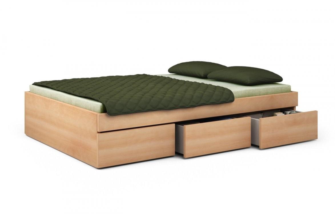 Buche Bett von Bett 100X200 Mit Bettkasten Photo