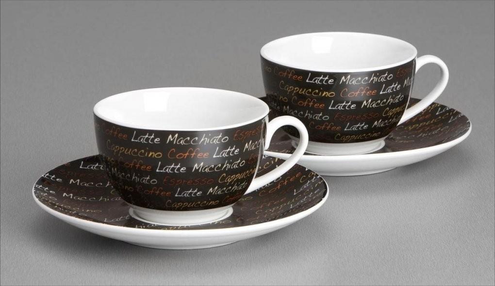 Cappuccinotassen 2Er Set Lettera Flirtritzenhoff & Breker von Ritzenhoff Kaffeetassen Set Bild