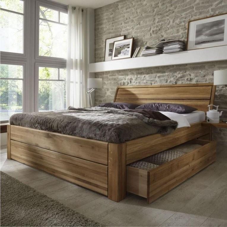 Cool Massivholzbett 180X200 Komforthöhe Massivholz Schubladenbett von Bett 180X200 Massivholz Komforthöhe Photo